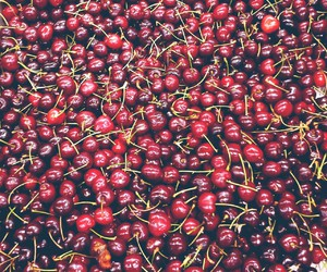 cherries, healthy, and red image
