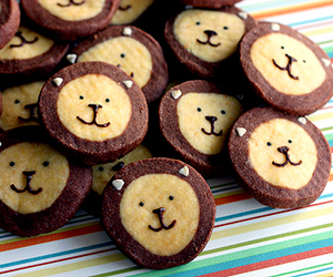 lion, cute, and Cookies image