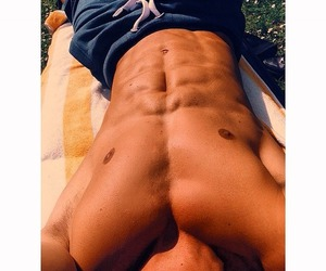 abs, boy, and Hot image