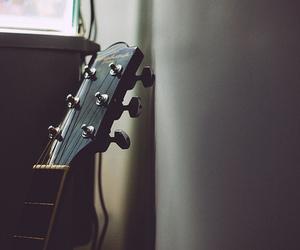 guitar, music, and grunge image