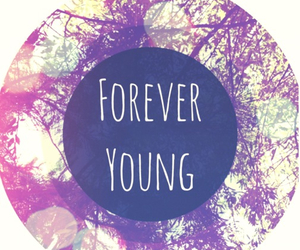 forever, girl, and young image