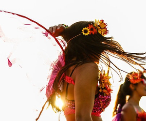 festival, flowers, and summer image