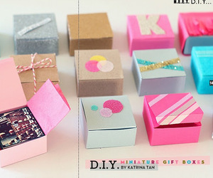 diy, box, and creation image