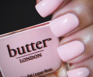 pink, nails, and butter image
