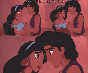 aladdin, depressing, and disney image