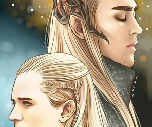 cartoon, hobbit, and lee pace image
