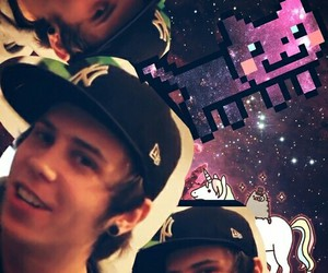 elrubiusomg and nyan cat image