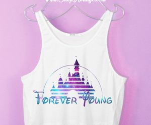 tank top, disney, and fashion image