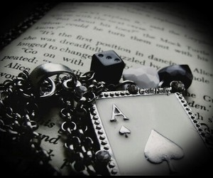 ace, chain, and book image
