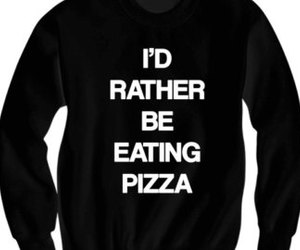 black, clothes, and eating image