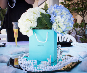 fashion, flowers, and tiffany & co image