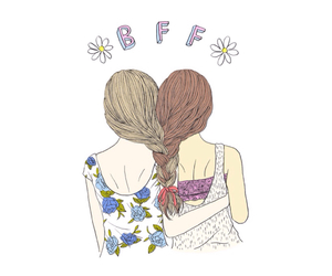 bff, overlay, and friends image