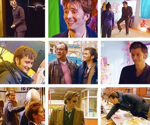 david tennant, doctor who, and russel t. davies image