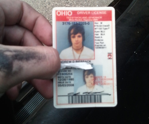 music, ohio, and driver license image