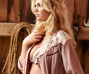 beautiful, covergirl, and lingerie image