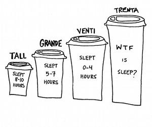 coffee and sleep image