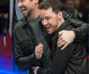 hugh jackman, x men, and james mcavoy image