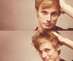 bradley james, hair, and man image