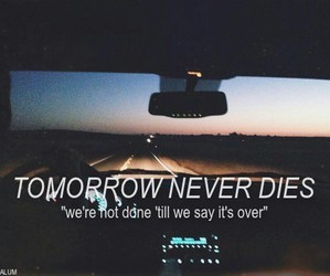 5sos, tomorrow never dies, and band image