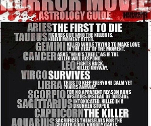 funny, gemini, and horror movie image
