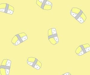 寿司, かわいい, and 黄色 image
