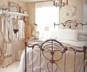 bedroom and vintage image