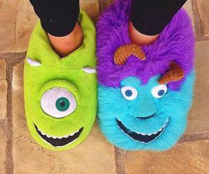 monster, shoes, and blue image