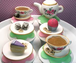 beautiful, cupcakes, and cups image