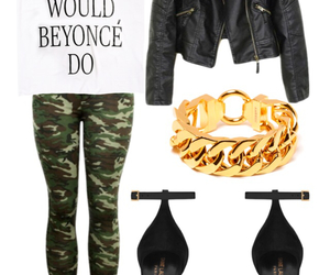 army, Polyvore, and YSL image