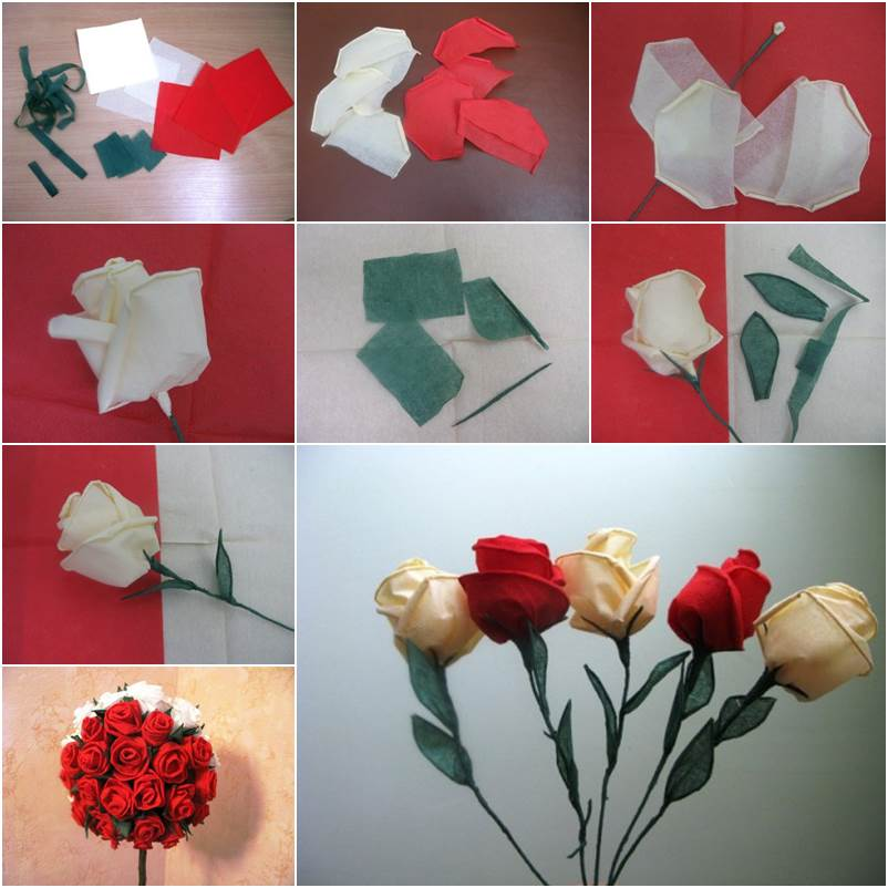 How To Diy Beautiful Crepe Paper Roses Icreativeideas