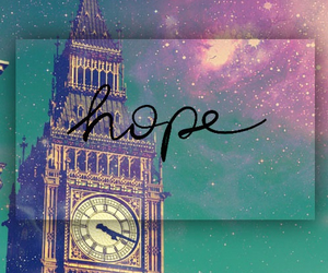 hope, london, and Big Ben image