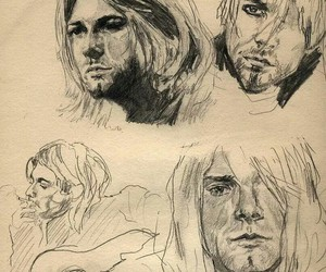 cobain and kurt image