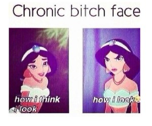 funny, princess, and chronic bitch face image