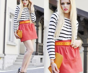 blond, girl, and lookbook image