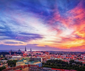 estonia and tallinn image