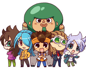 chibi, mark evans, and shawn frost image