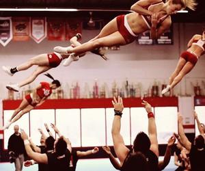 bows, stunt, and cheer image