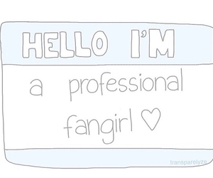 fangirl and overlay image