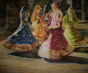 dance, girls, and india image
