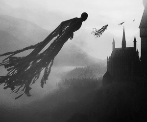 harry potter, hogwarts, and dementor image