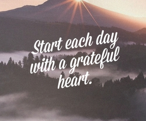 day, heart, and grateful image
