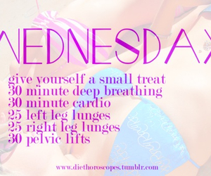 workout, fitness, and wednesday image