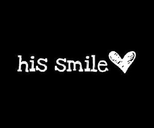 His, is, and smile image