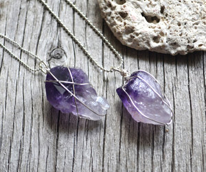 amethyst, etsy, and jewelry image