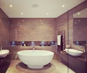 bathroom, luxury, and decor image