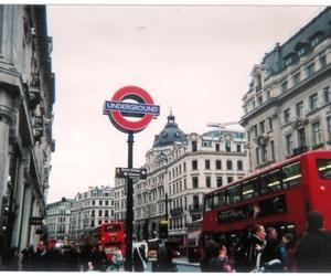london, city, and underground image