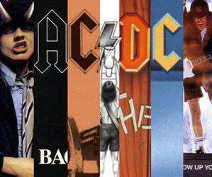ac dc, records, and rock image