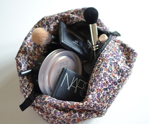 make up, Brushes, and cosmetics image