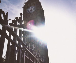 london, sun, and vacation image