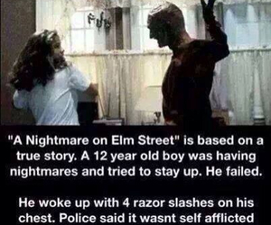 horror and Nightmare on Elm Street image